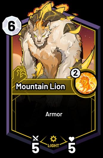 Mountain Lion -