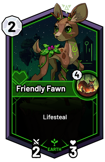 Friendly Fawn -