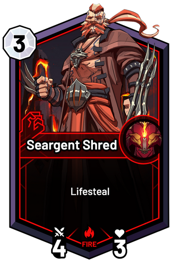 Seargent Shred -