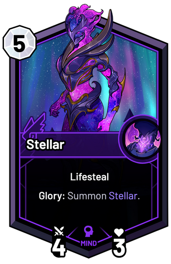 Stellar - Glory: Summon Stellar.