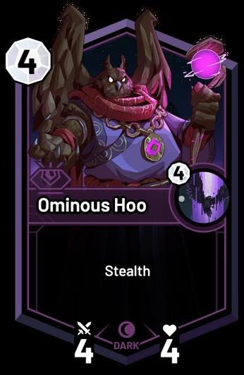 Ominous Hoo -