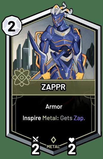 ZAPPR - Inspire Metal: Gets Zap.