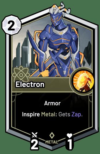 Electron - Inspire Metal: Gets Zap.