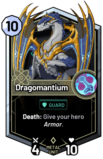 Dragomantium - Death: Give your hero armor.
