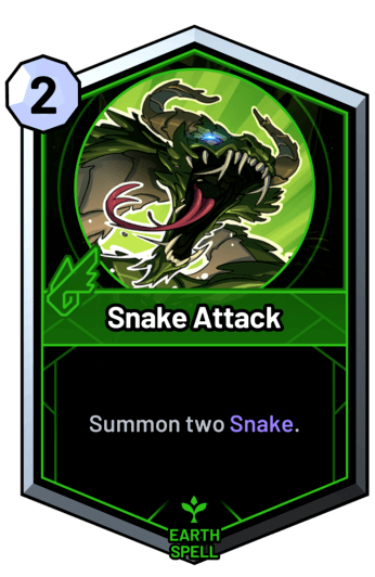 Snake Attack - Summon two Snake.