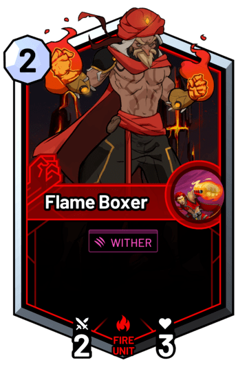 Flame Boxer -