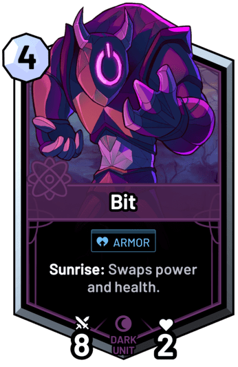 Bit - Sunrise: Swaps power and health.