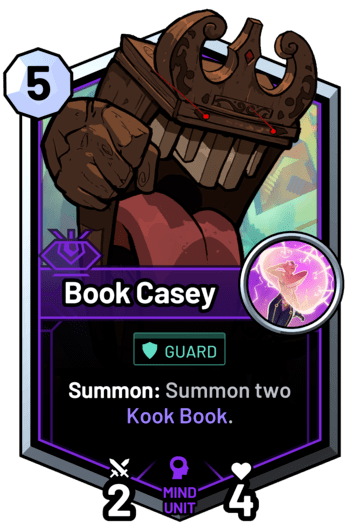 Book Casey - Summon: Summon two Kook Book.