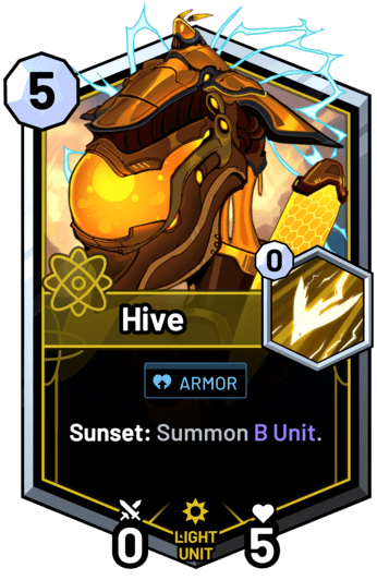 Hive - Sunset: Summon B Unit.