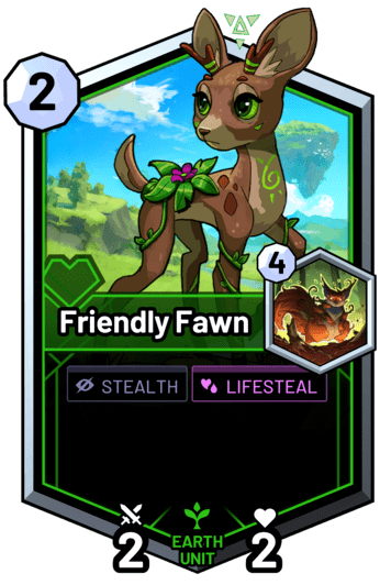 Friendly Fawn -