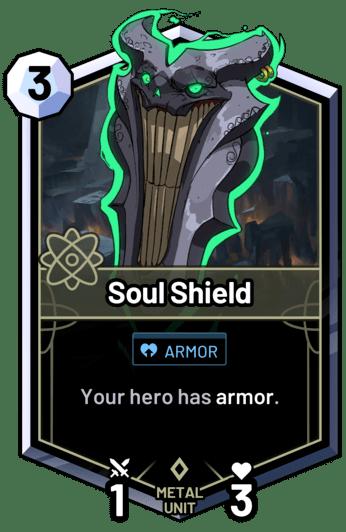 Soul Shield - Your hero has armor.