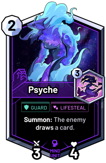 Psyche - Summon: The enemy draws a card.