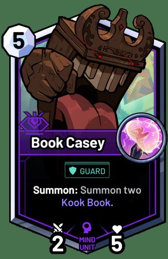 Book Casey - Summon: Summon two Kook Book.